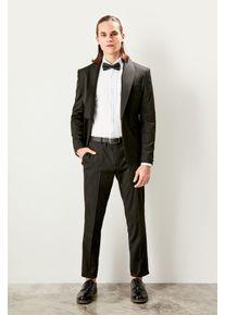 Trendyol Black mens Slim Fit Smart Groom Pants