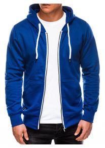 Ombre Clothing Men's zip-up sweatshirt B977