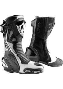 Arlen Ness Pro Shift 2 Motocyklové boty 37 Černá Šedá Bílá