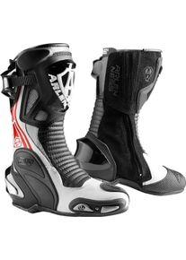 Arlen Ness Pro Shift 2 Motocyklové boty 40 Černá Bílá červená