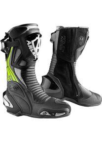 Arlen Ness Pro Shift 2 Motocyklové boty 38 Černá žlutá