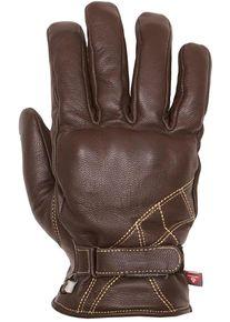 Helstons Wave Motocyklové rukavice 2XL Hnědá