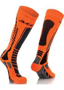 Acerbis MX Pro Ponožky 2XL Černá Oranžová