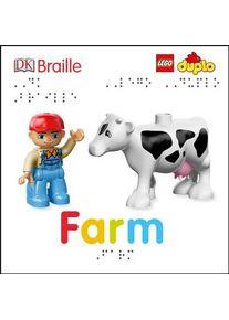 DK Braille: Lego Duplo: Farm (DK)(Board Books)