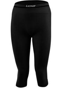 Lenz 6.0 Merino 3/4 Funkční kalhoty L Černá