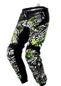 O Neal Oneal Element Attack Mládež Motokrosové kalhoty XL Černá žlutá