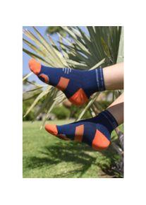 Nessi Sportswear Běžecké ponožky PRO Race R RMO-17 Blue + orange Velikost: 42-44