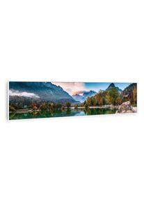 Klarstein Wonderwall Air Art Smart, infračervený ohřívač, moře, 120 x 30 cm, 350 W