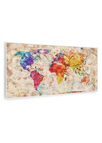 Klarstein Wonderwall Air Art Smart, infračervený ohřívač, barevná mapa, 120 x 60 cm, 700 W