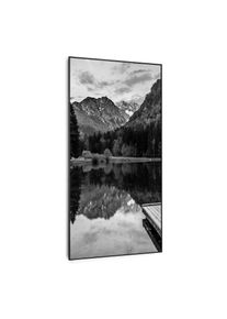 Klarstein Wonderwall Air Art Smart, infračervený ohřívač, moře černo-bílé, 60 x 120 cm, 700 W