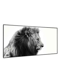 Klarstein Wonderwall Air Art Smart, infračervený ohřívač, lev, 60 x 120 cm, 700 W