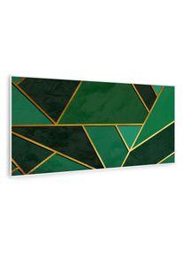 Klarstein Wonderwall Air Art Smart, infračervený ohřívač, zelená čára, 120 x 60 cm, 700 W