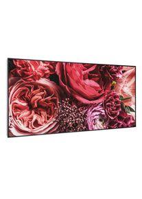 Klarstein Wonderwall Air Art Smart, infračervený ohřívač, květ, 120 x 60 cm, 700 W
