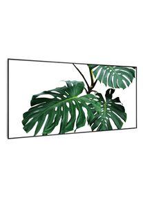 Klarstein Wonderwall Air Art Smart, infračervený ohřívač, zelený list, 120 x 60 cm, 700 W